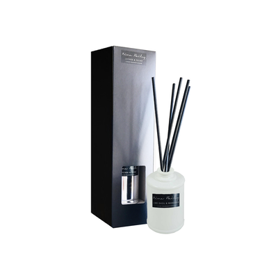 Lemongrass & Persian Lime Reed Diffuser White - Image 2