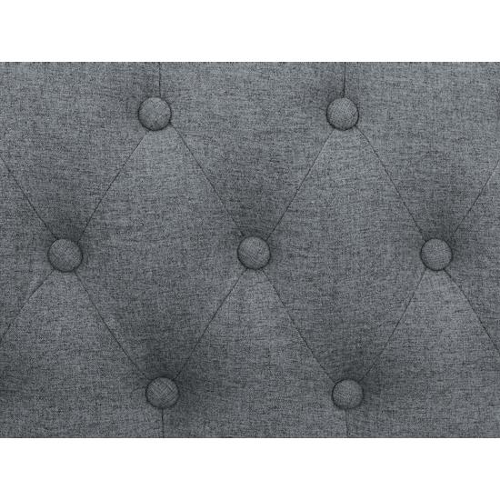 Estelle - Cadencia Loveseat - Grey (Fabric)
