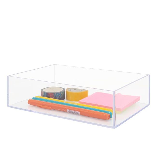Nakabayashi Acrylic Tray - 1 Compartment - 1