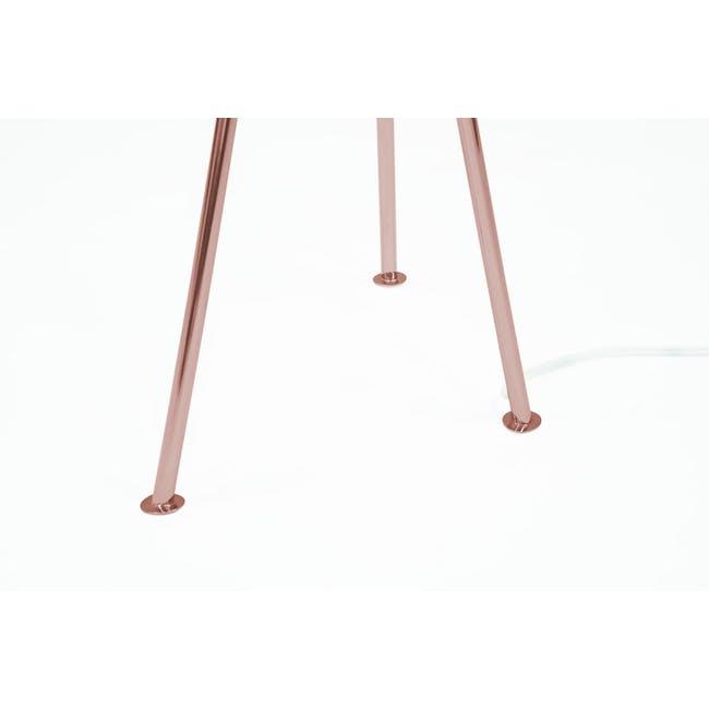Grasshoppa Floor Lamp - White, Copper - 5
