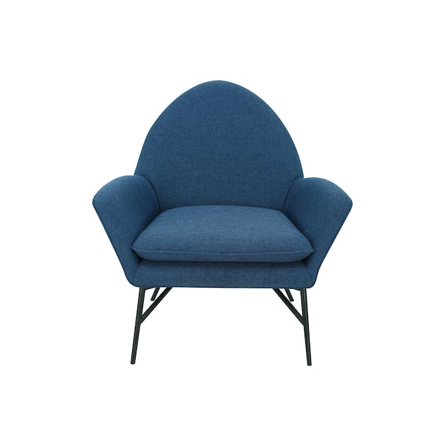 Esther Lounge Chair - Midnight Blue - 0