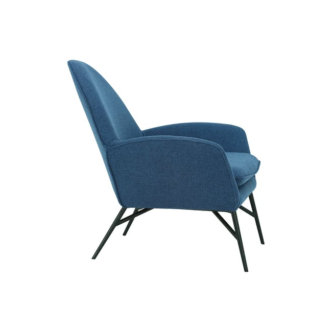Esther Lounge Chair - Midnight Blue - 2