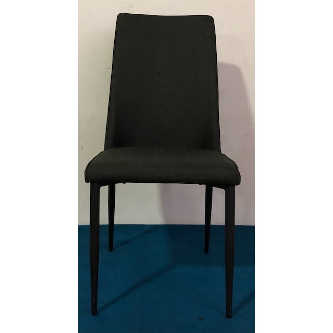 (As-is) Jake Dining Chair - Black, Carbon - 9 - 1