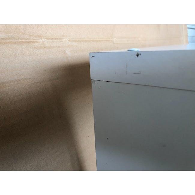 (As-is) Taina 4 Shelving Unit (Column) - White - 5 - 4