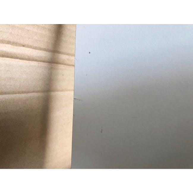 (As-is) Taina 4 Shelving Unit (Column) - White - 5 - 6