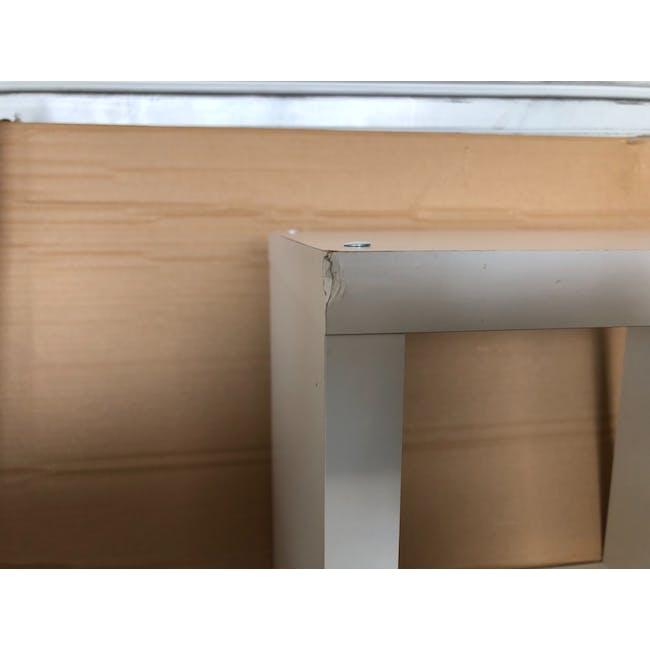 (As-is) Taina 4 Shelving Unit (Column) - White - 5 - 3