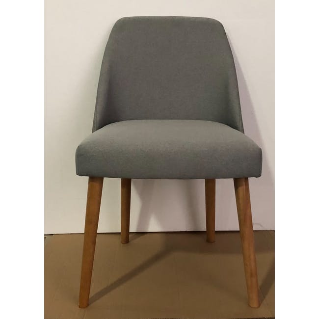 (As-is) Miranda Chair - Natural, Sea Green - 1 - 1