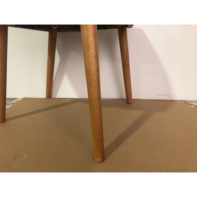 (As-is) Miranda Chair - Natural, Sea Green - 1 - 3
