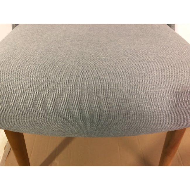 (As-is) Miranda Chair - Natural, Sea Green - 1 - 5