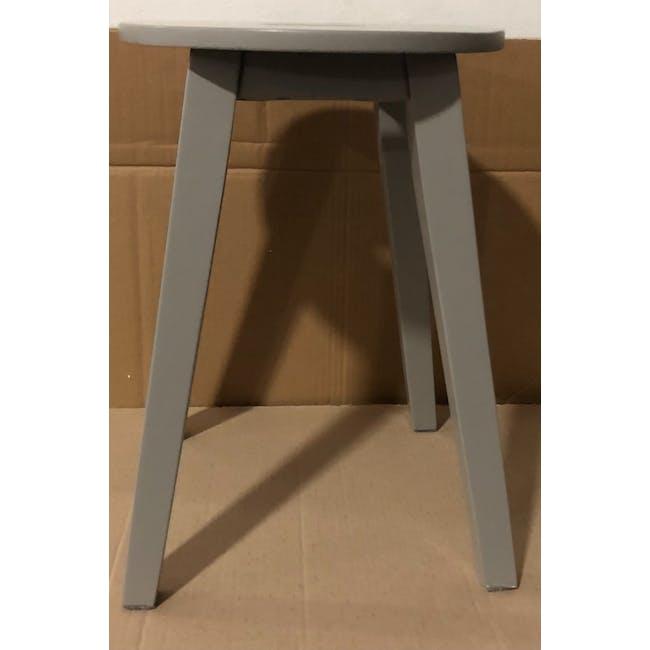 (As-is) Calder Stool - Light Grey - 4 - 2