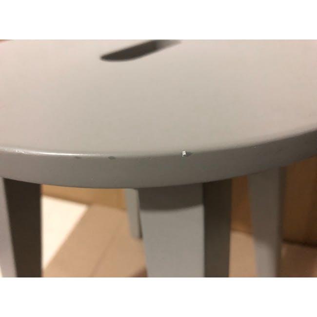 (As-is) Calder Stool - Light Grey - 4 - 7