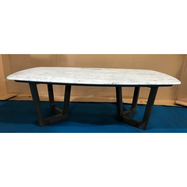 (As-is) Carson Marble Coffee Table - 2 - 1