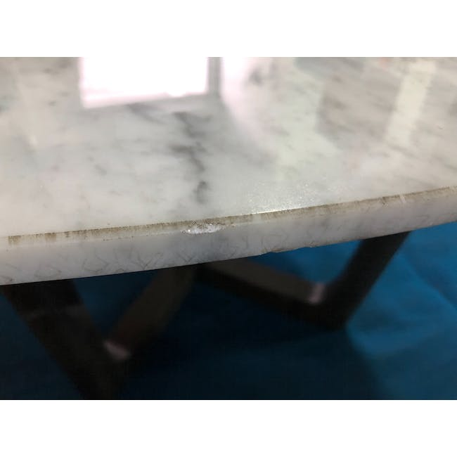 (As-is) Carson Marble Coffee Table - 2 - 8
