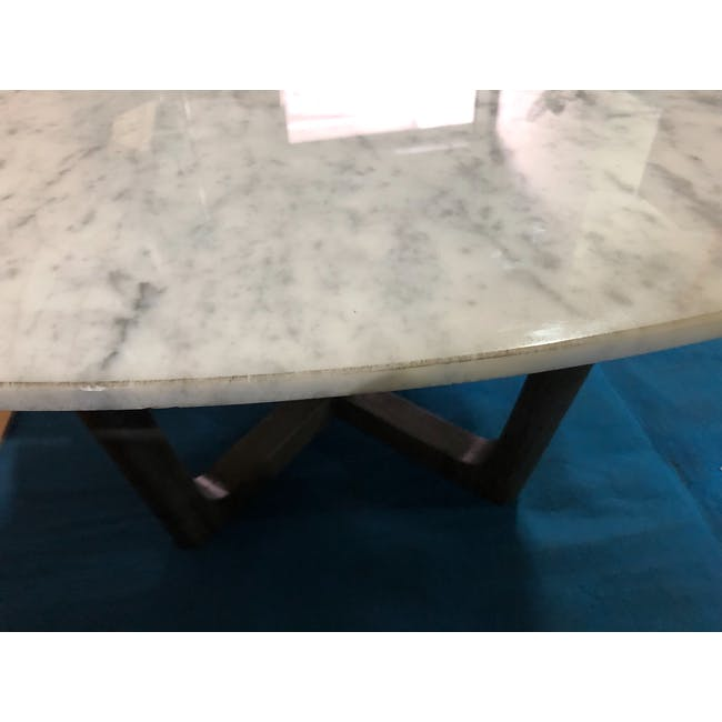 (As-is) Carson Marble Coffee Table - 2 - 11