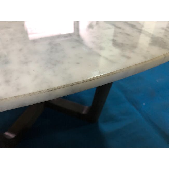 (As-is) Carson Marble Coffee Table - 2 - 10