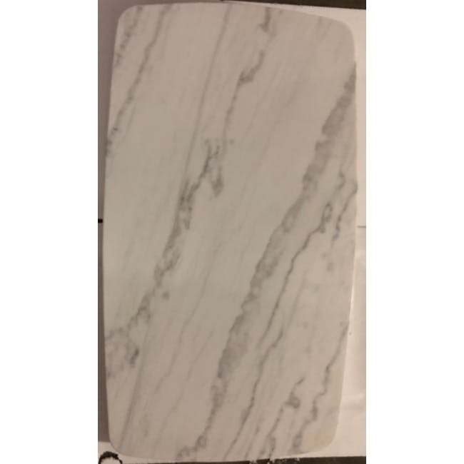 (As-is) Hagen Marble Dining Table 1.6m - 1 - 6