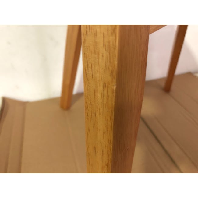 (As-is) Harold Dining Chair - Natural, Dolphin Grey - 1 - 9