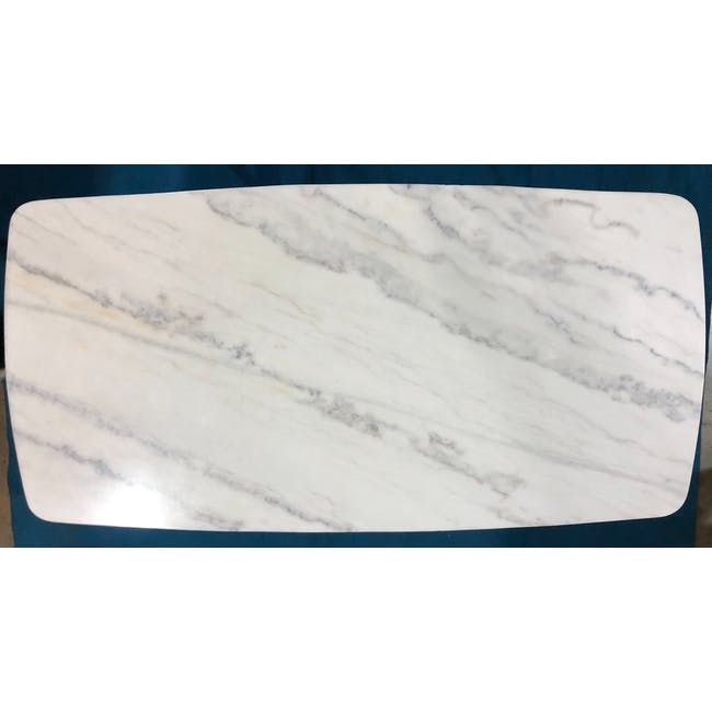 (As-is) Hagen Marble Dining Table 1.8m - 4 - 1