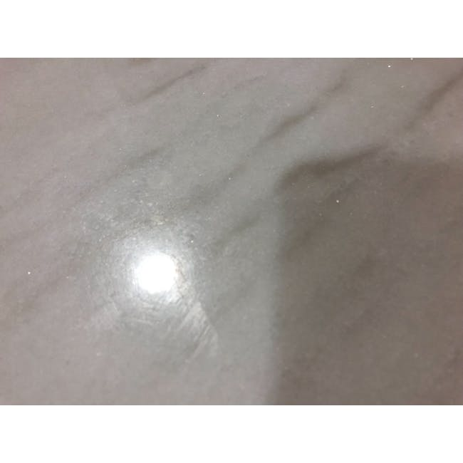 (As-is) Hagen Marble Dining Table 1.8m - 4 - 6