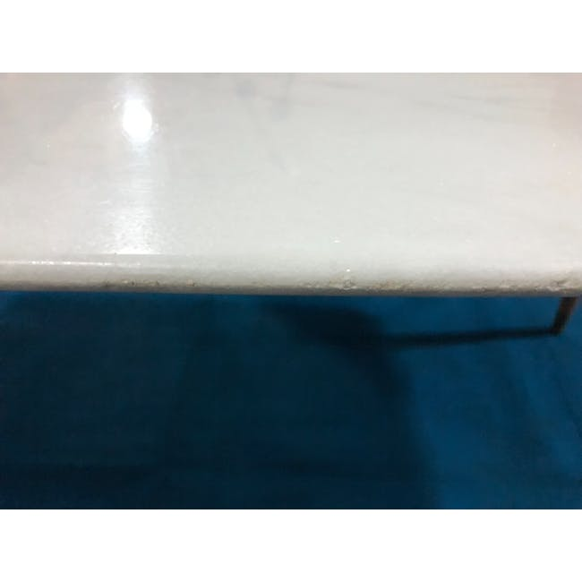 (As-is) Hagen Marble Dining Table 1.8m - 4 - 13