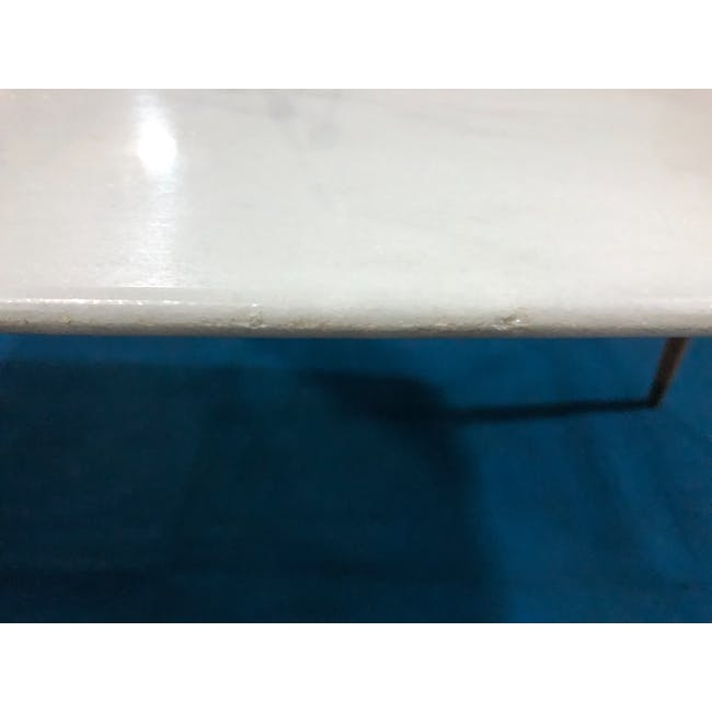 (As-is) Hagen Marble Dining Table 1.8m - 4 - 14