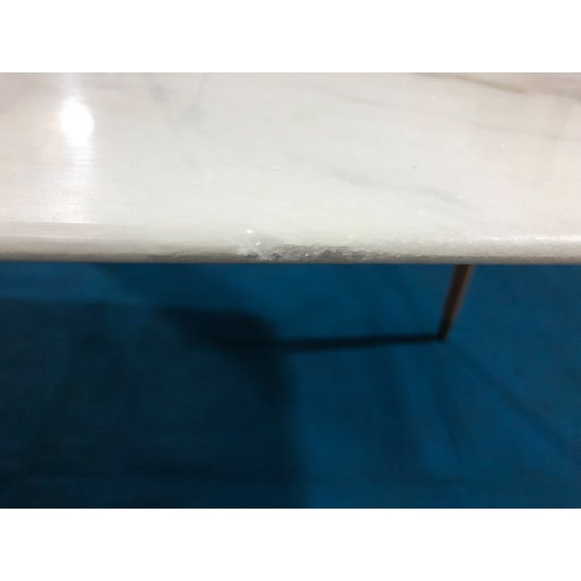 (As-is) Hagen Marble Dining Table 1.8m - 4 - 12