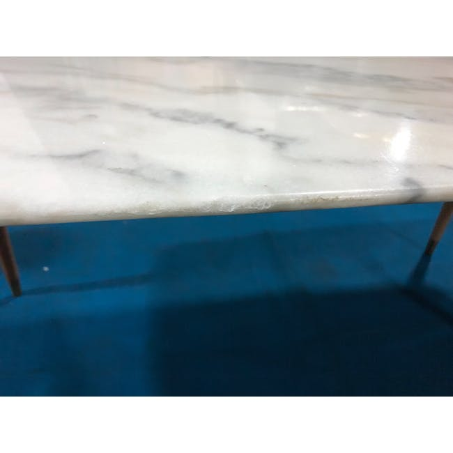 (As-is) Hagen Marble Dining Table 1.8m - 4 - 7