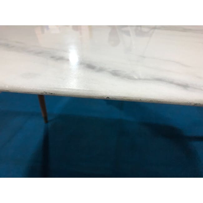 (As-is) Hagen Marble Dining Table 1.8m - 4 - 15