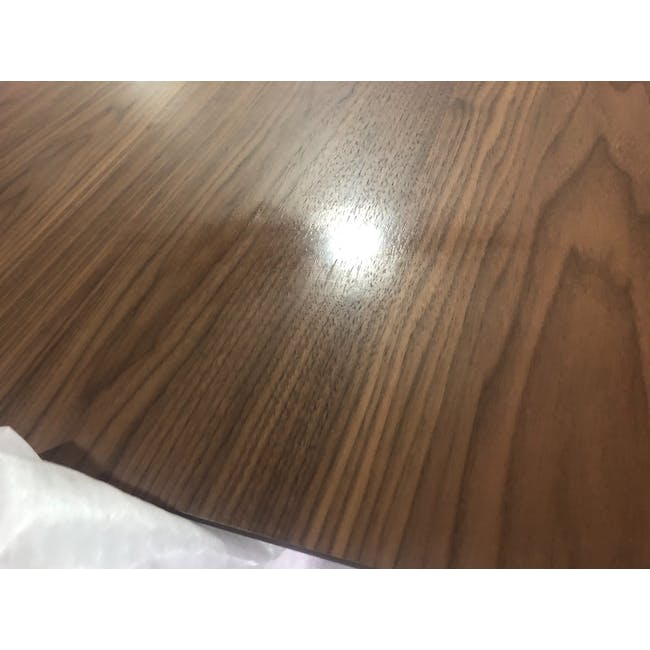 (As-is) Werner Extendable Oval Dining Table 1.5m - Walnut - 4 - 1