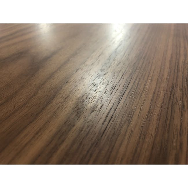 (As-is) Werner Extendable Oval Dining Table 1.5m - Walnut - 4 - 3