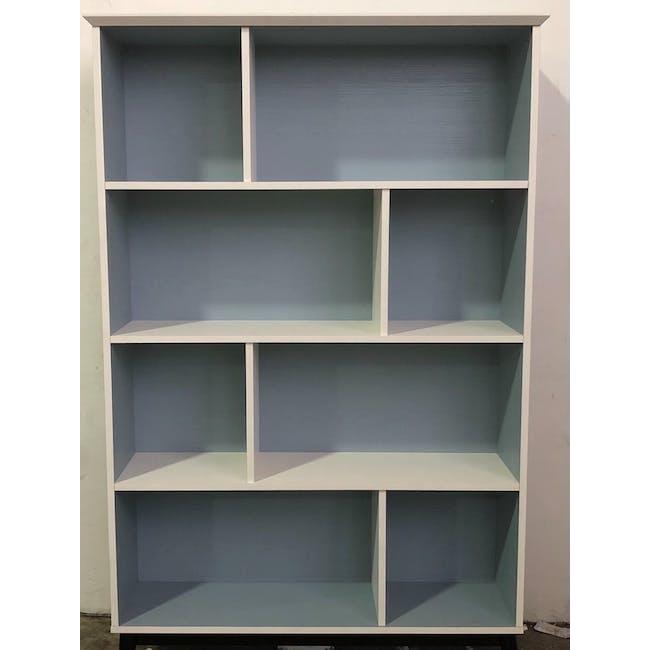 (As-is) Howard Bookshelf - Light Blue, White - 1 - 1
