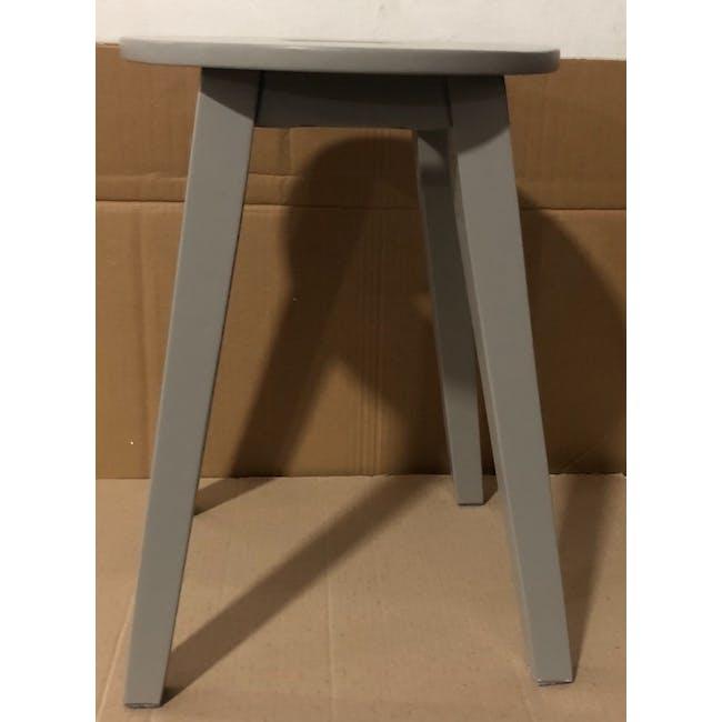 (As-is) Calder Stool - Light Grey - 3 - 2