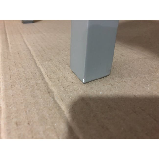 (As-is) Calder Stool - Light Grey - 3 - 7