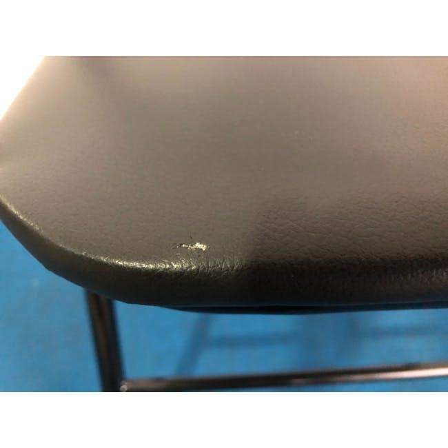 (As-is) Meko Folding Chair - Black - 1 - 5
