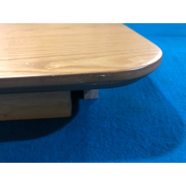 (As-is) Charmant Dining Table 1.4m - Oak - 2 - 8