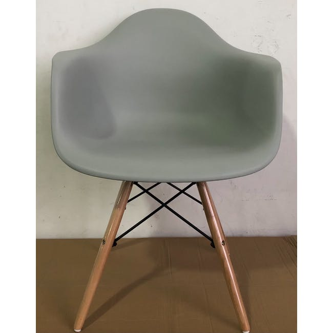 (As-is) DAW Chair - Natural, Grey - 1 - 1