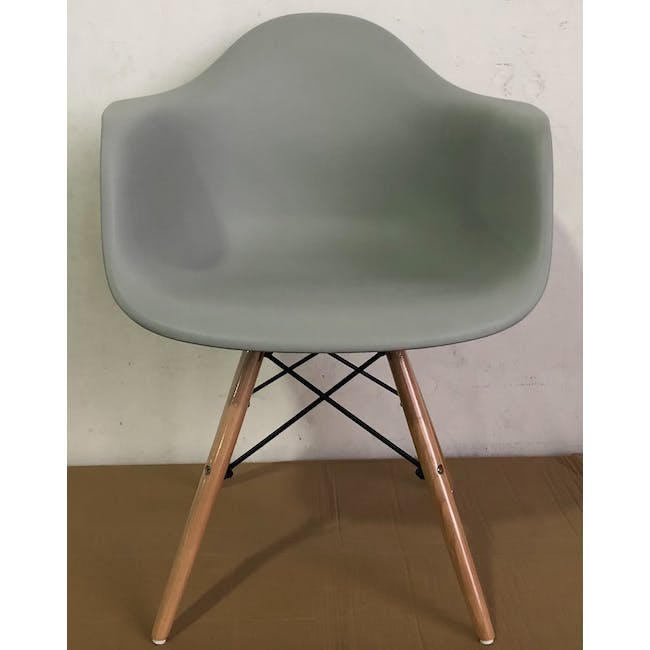 (As-is) DAW Chair - Natural, Grey - 1 - 2