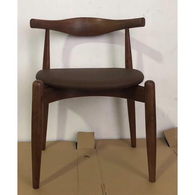 (As-is) Bouvier Dining Chair - Walnut, Mocha - 1 - 1
