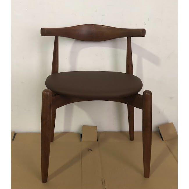(As-is) Bouvier Dining Chair - Walnut, Mocha - 1 - 2