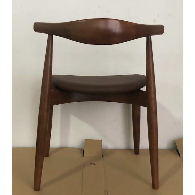 (As-is) Bouvier Dining Chair - Walnut, Mocha - 1 - 4
