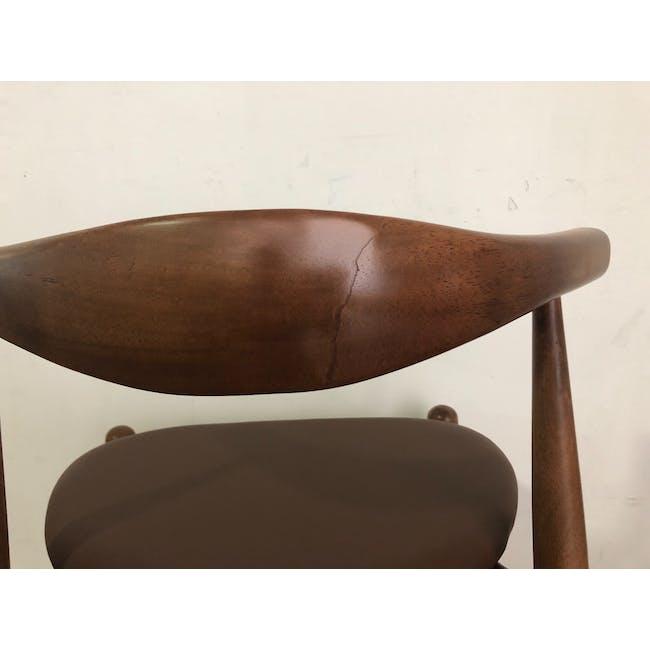 (As-is) Bouvier Dining Chair - Walnut, Mocha - 1 - 5