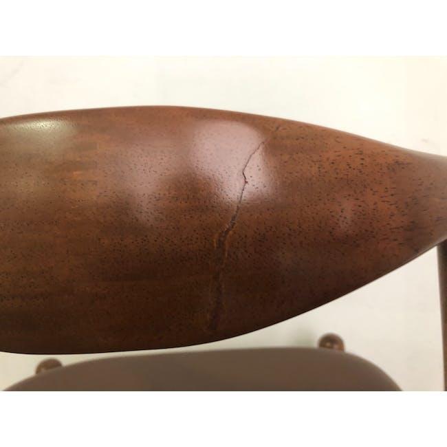 (As-is) Bouvier Dining Chair - Walnut, Mocha - 1 - 7