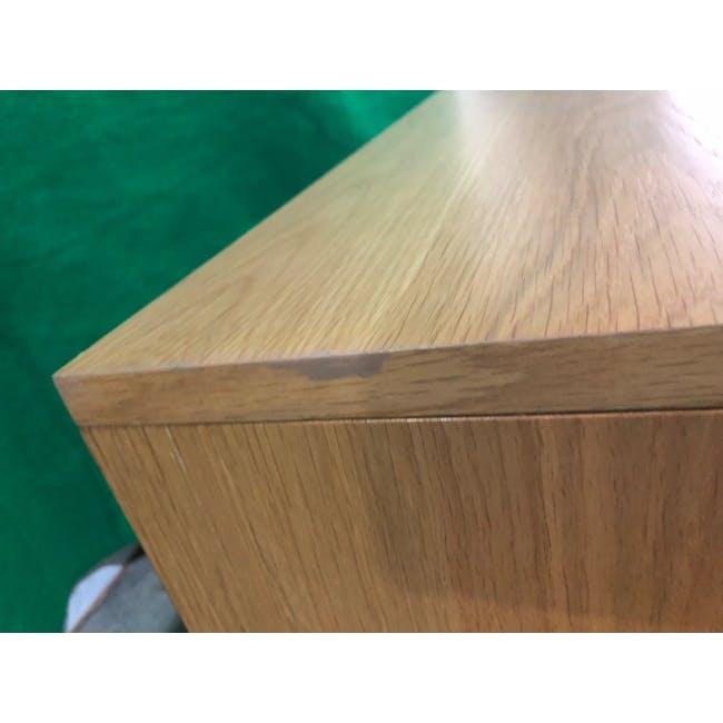(As-is) Keita TV Console 1.8m - Oak - 7 - 12