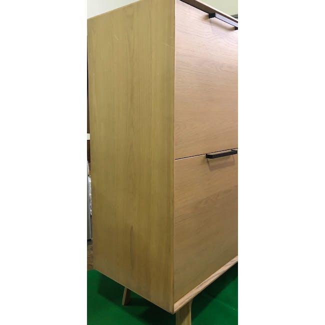 (As-is) Noud Tall Sideboard 1.2m - 1 - 1