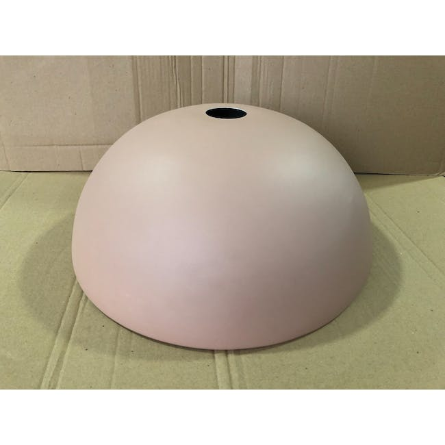 (As-is) Erin Pendant Lamp - Brass, Pink - 1 - 1