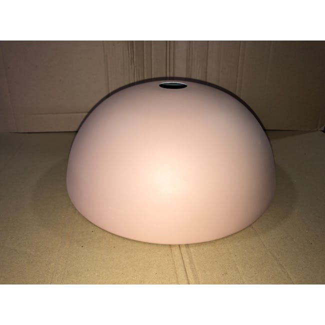 (As-is) Erin Pendant Lamp - Brass, Pink - 1 - 3