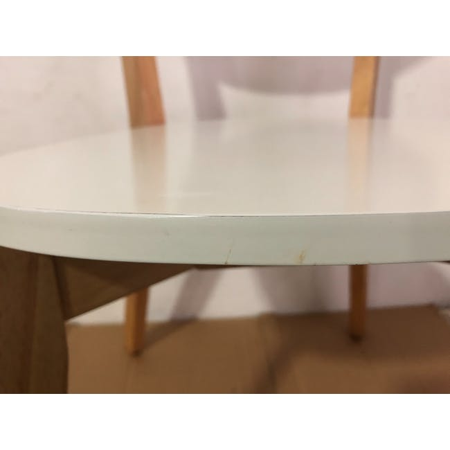 (As-is) Harold Dining Chair - Natural, White - 25 - 4