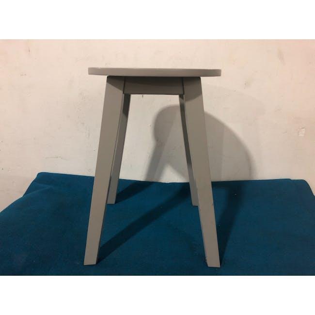 (As-is) Calder Stool - Light Grey - 5 - 1