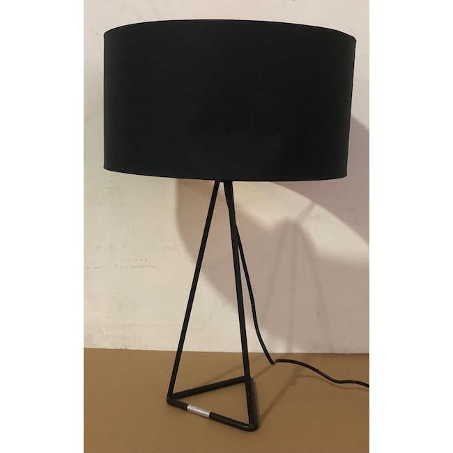 (As-is) Zoey Table Lamp - Black - 2 - 1