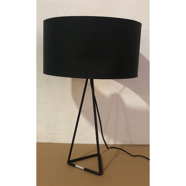 (As-is) Zoey Table Lamp - Black - 2 - 2